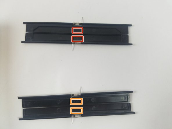 Keep the correct cartridge doors together.  Note the door numbers and position.