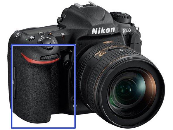 Nikon D500 Top Panel Removal