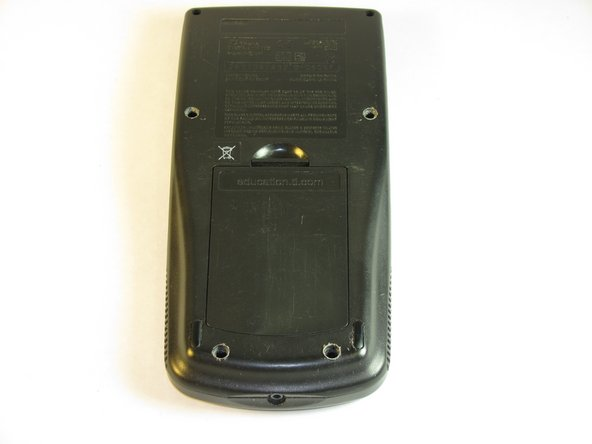 Texas Instruments TI-83 Plus Backup Battery Replacement