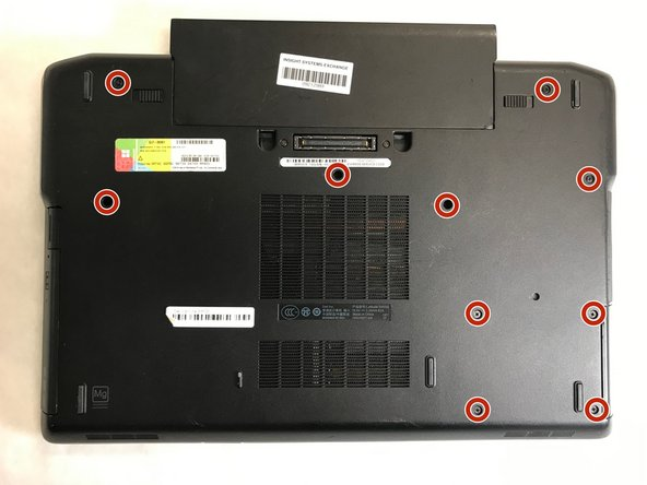 Dell Latitude E6520 Bottom Cover Replacement