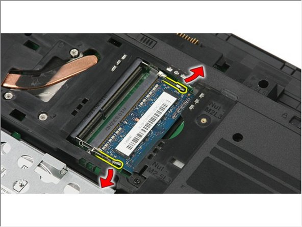 Dell Vostro 3350 Memory Module Replacement