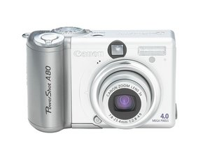 Canon PowerShot A80 Repair