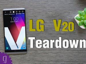 LG V20  Disassembly