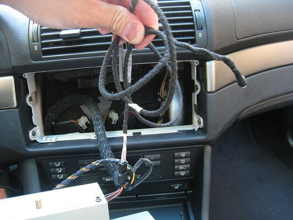 Image 3/3: Once connected run the Auxillary Audio input wiring to your desired location.