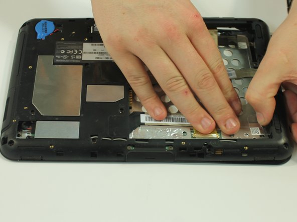 Be careful not to tear or damage the cables when removing the back.