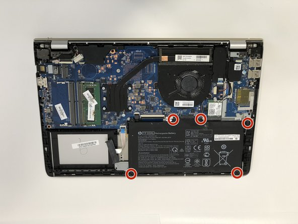 HP Pavilion 14-bk061st Battery Replacement