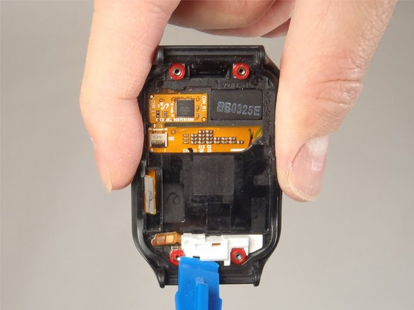 Image 1/1: The whole home button mechanism should lift right out.