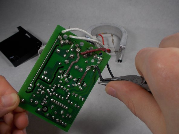 When replacing any soldered components, you may want to apply new solder.