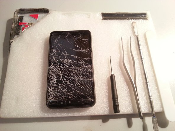 HTC HD 2 Touch Glas Repair