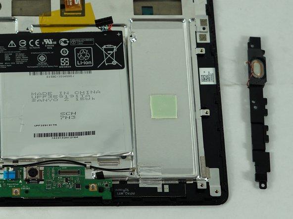 Asus Transformer Book T100TAR Speaker Replacement
