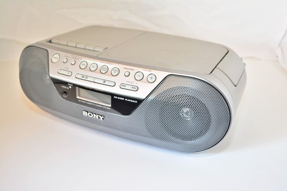 sony radio cfd s05 repair ifixit. Black Bedroom Furniture Sets. Home Design Ideas