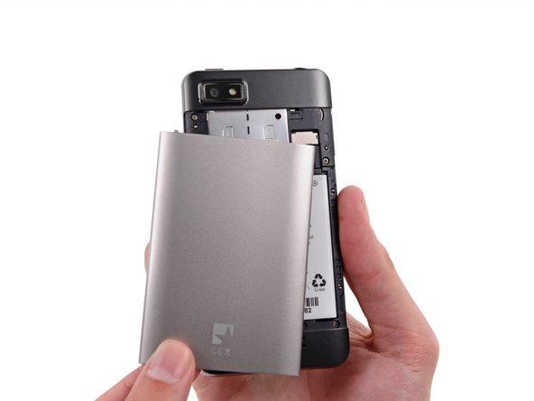 Fairphone 1 Back Cover ersetzen