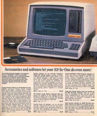 Heathkit computer ad