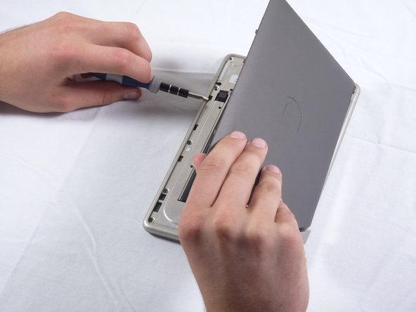 Pull the back panel off the Nook.