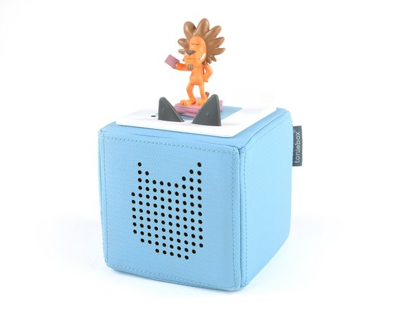 The Toniebox is designed as an audiobook player for kids (age three and up), and packs the following features: