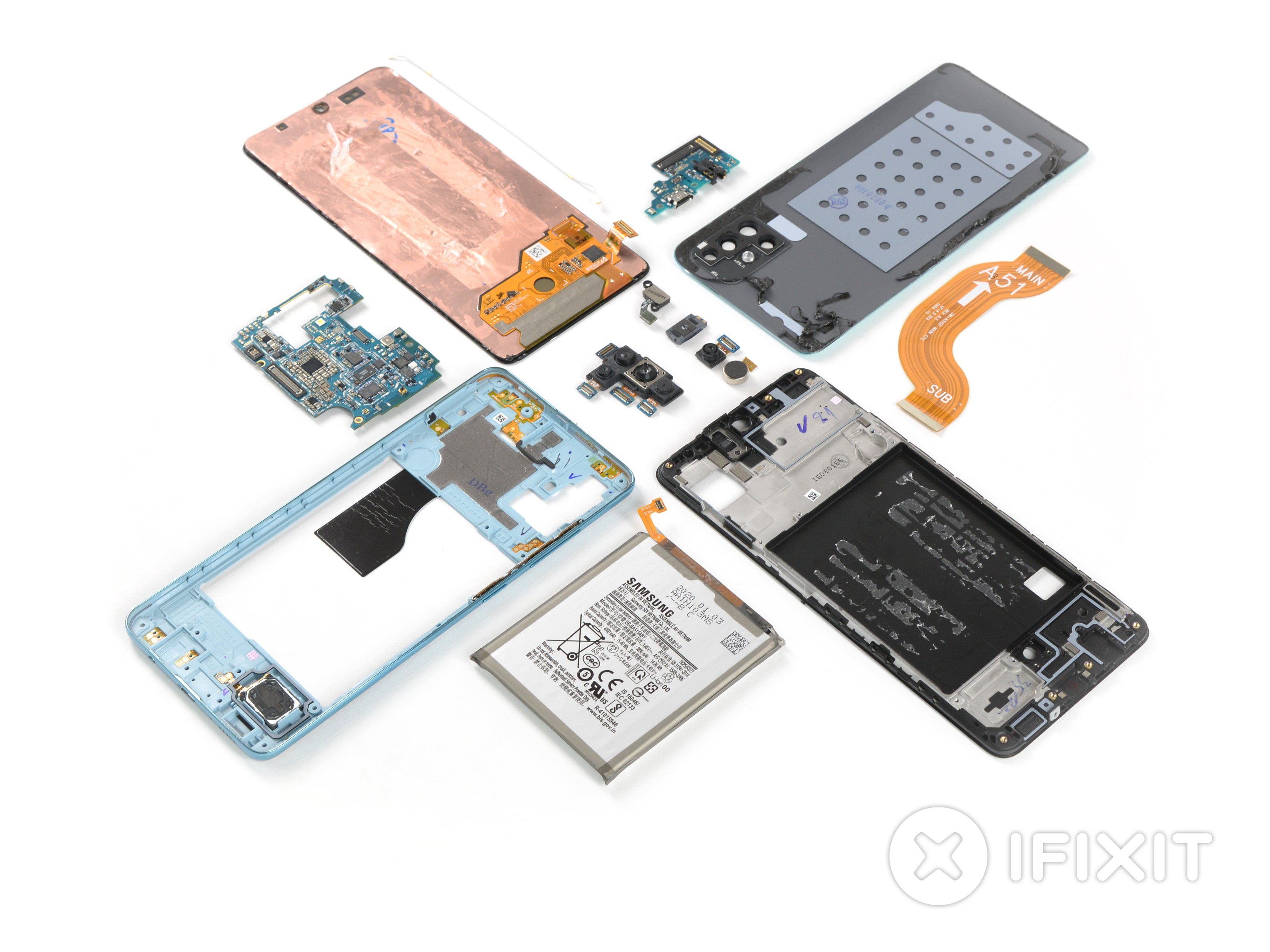 Samsung Galaxy A51 Teardown Ifixit