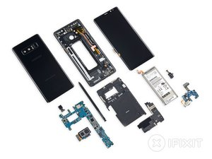 Note8 Teardown: Samsung Stays Safe, Streamlined