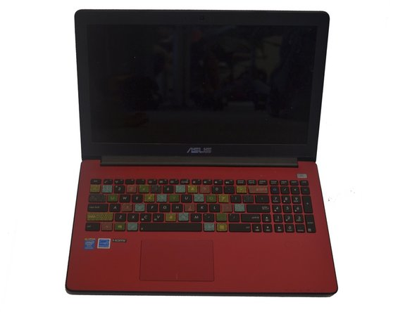 ASUS X502CA Palm Rest with Keyboard and Touch Pad Replacement
