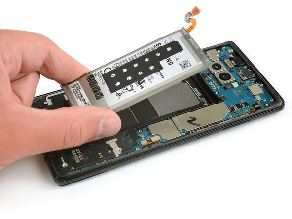 Lift the battery out of the case.