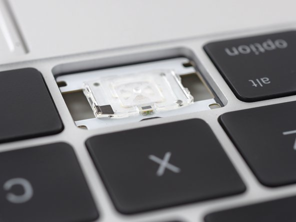 Apple has opted to transition from using a row of LEDs with a light guide panel, to installing individual LEDs beneath each key.