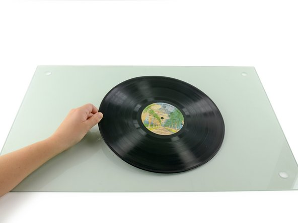 If your record is dirty, you'll want to clean it before starting.