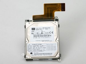 "PowerBook G4 Aluminum 17"" 1-1.67 GHz Hard Drive Replacement"