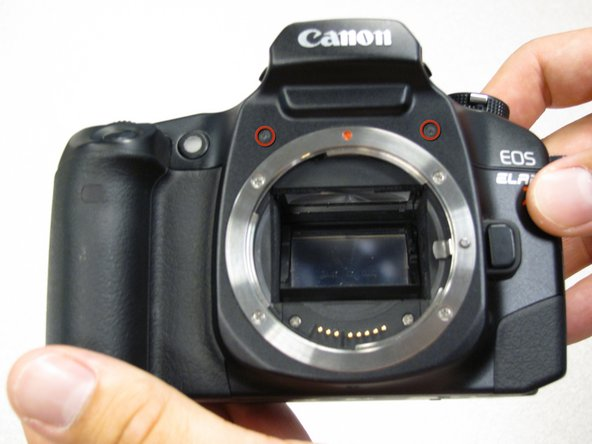 Canon EOS 30 Front Panel Replacement