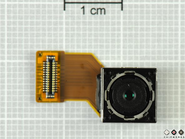 "The camera is the Sony IMX046, which is fabricated using a 90 nm CMOS process. The camera's resolution is 8.11 effective megapixel (8 active megapixel), 1.4 μm sized pixel, 1/3.2"" optical format. Samsung was the first to use this camera in the M8800."