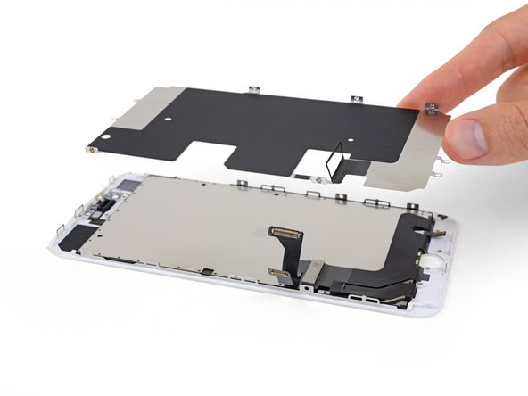 Remove the LCD shield plate.