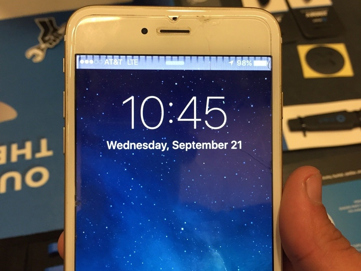 best sneakers 339e9 46e29 What to do if your iPhone 6 or 6 Plus won't respond to touch ...