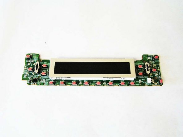 Image 1/1: Once the LCD screen is removed, you have unrestricted access to the front screen motherboard.