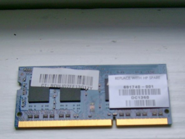 Image 1/2: The above 8GB memory module was sourced from memoryamerica.com, but you may find better deals elsewhere.