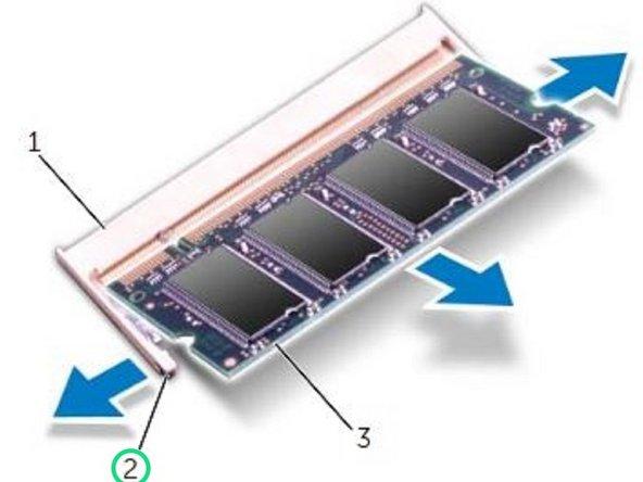 Dell Inspiron 15R 5520 Reemplazo del módulo de memoria