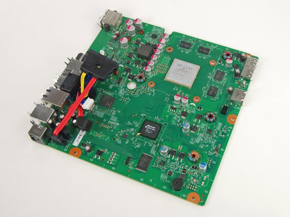 Image 1/1: When reinstalling a new board, remove the cables from this board and place them on the new board.