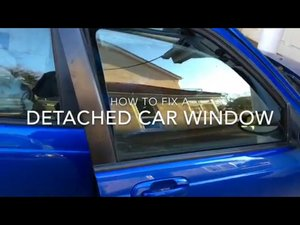 How to Fix a Loose Car Window