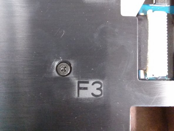 "Image 1/2: Notice the holes labeled with ""F3"" and ""F5""."
