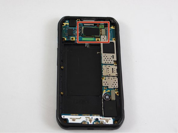 The rear camera will be attached to the motherboard on the rear case.