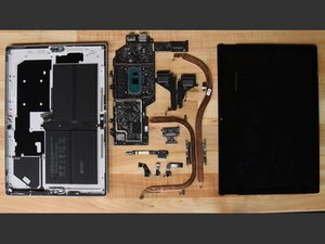 Microsoft Surface Pro 7 Teardown