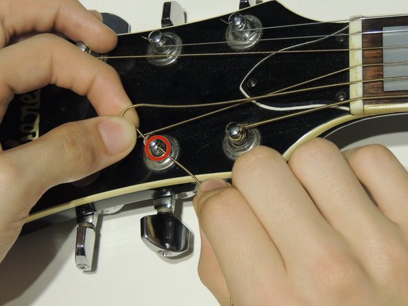 ibanez v300 guitar strings replacement ifixit repair guide. Black Bedroom Furniture Sets. Home Design Ideas