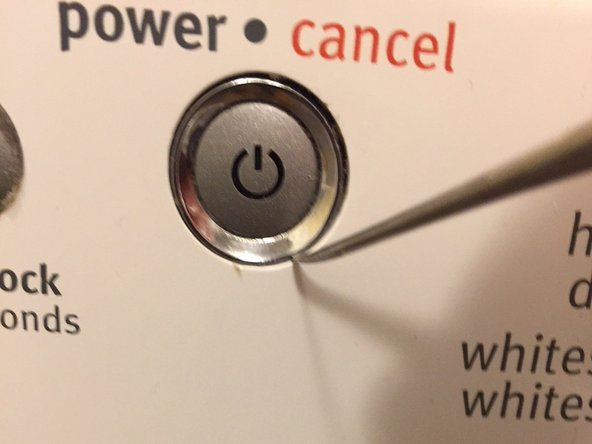 Simple Fix For Stuck Power / Cancel Button