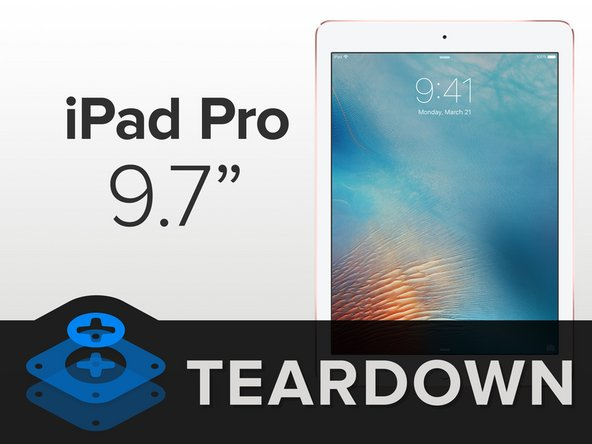 "Apple may have let all the Air out of the iPad line, but they didn't skimp on the 9.7"" Pro's specs:"