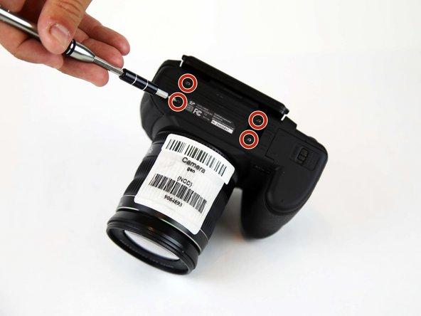 Remplacement du cadre du Fujifilm FinePix HS30EXR