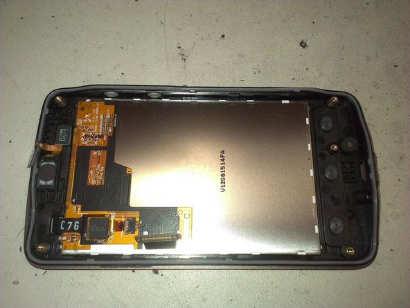 Now, you can take apart the chassis from the front cover, leaving only the display and the touch.