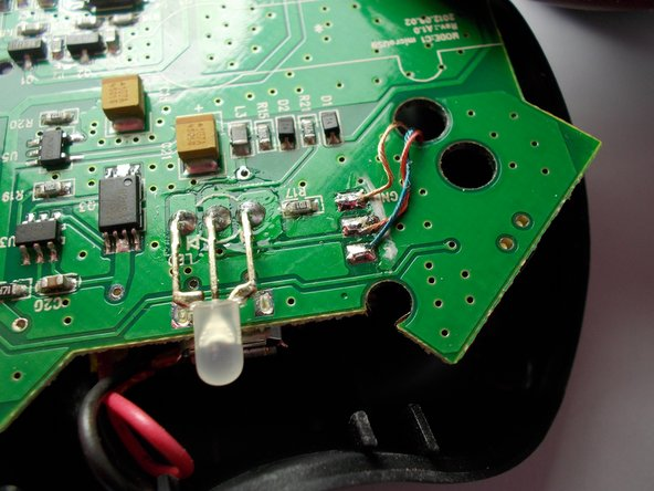 Image 1/1: Obtain new LED component from manufacturer.