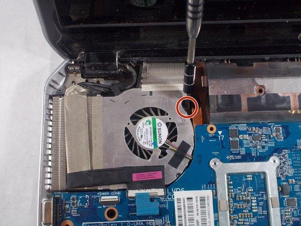 Remove circled screws.