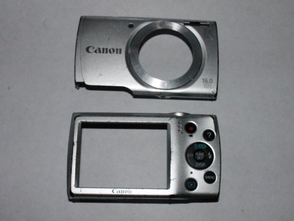 Canon PowerShot A2500 Body Casing and Faceplate Replacement
