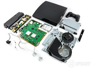 PlayStation 3 Slim Teardown