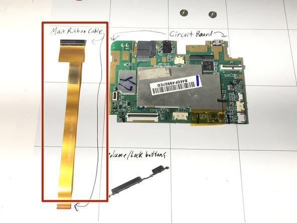 DigiLand DL8006 Internal Ribbon Replacement