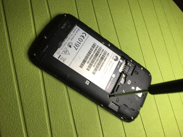 With the help of a cross-head screwdriver, remove the 9 side screws that secure the back cover.