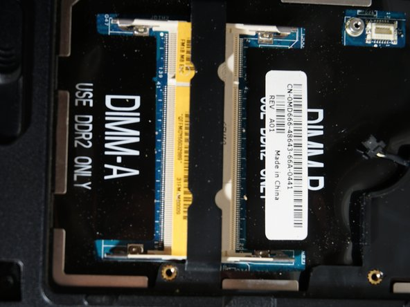 Remember, If only replacing one Stick, to put that stick in DIMM A or DIMM 1.